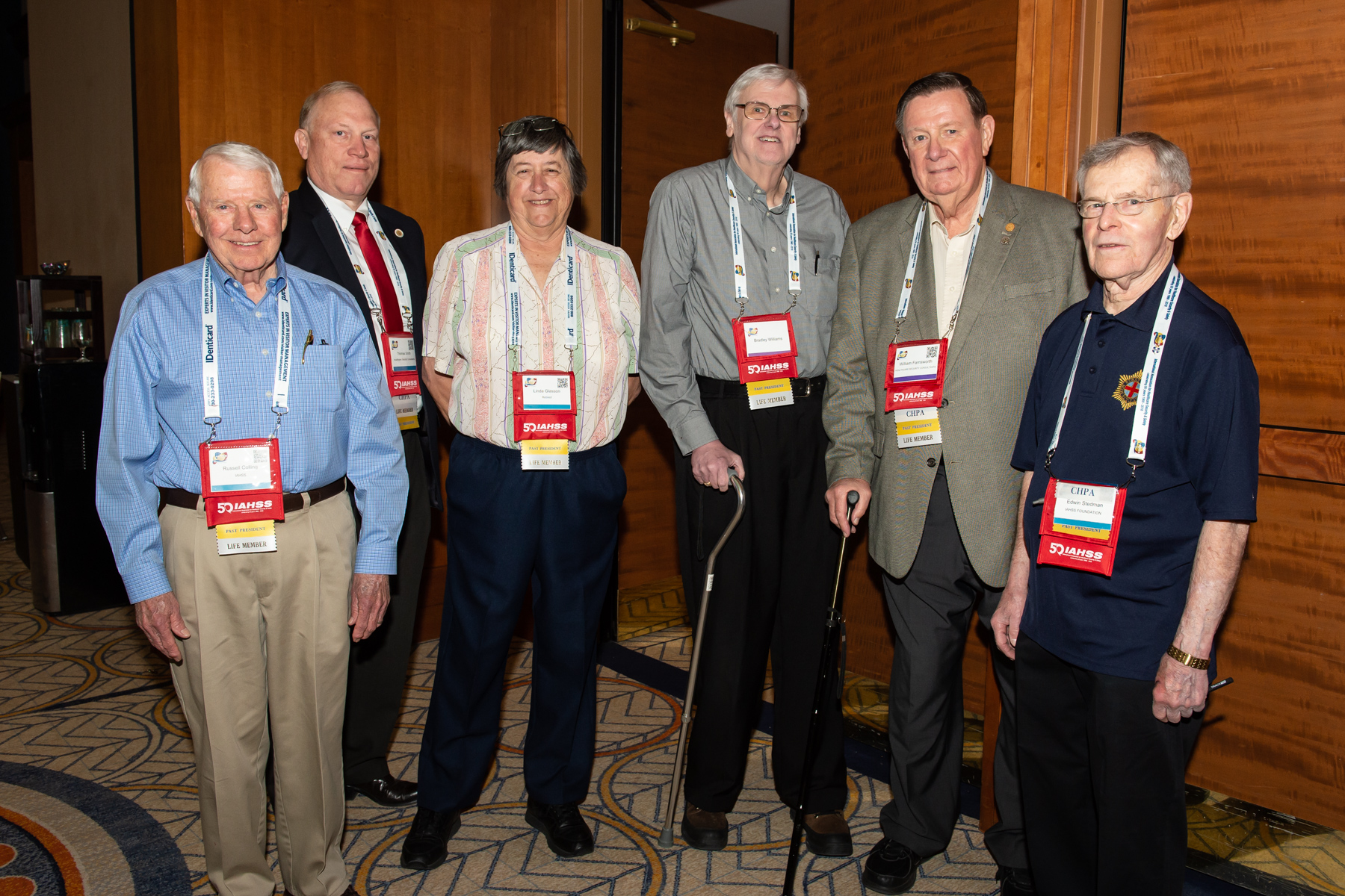 An impressive group of past IAHSS presidents
