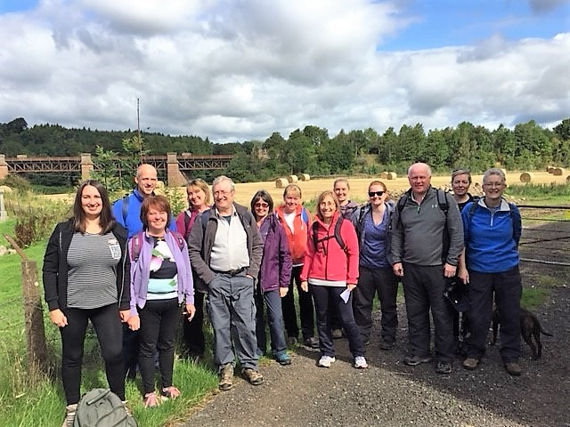 Staff Charity Walk