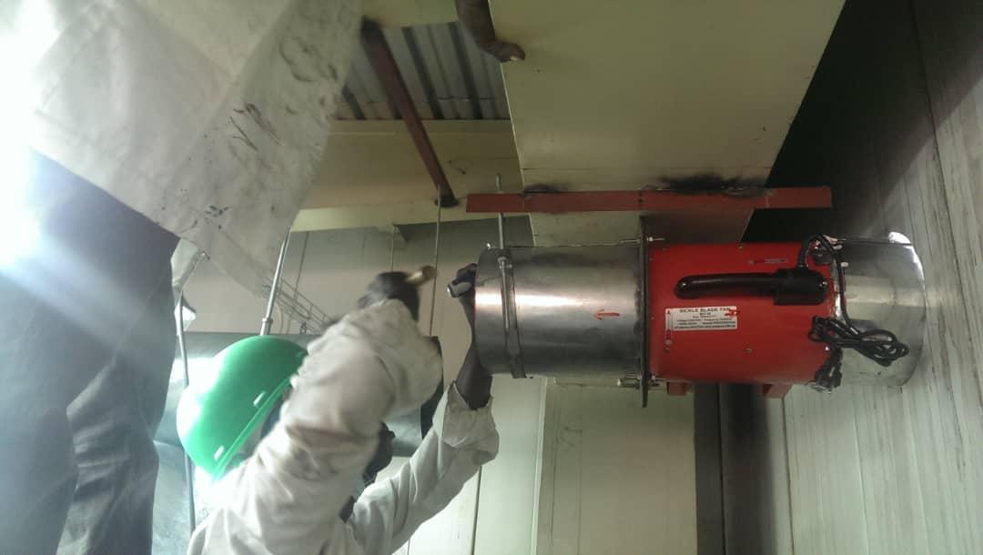Installations at Perfetti Van Keller Nig Ltd by DEBAF ENGINEERING SERVICES