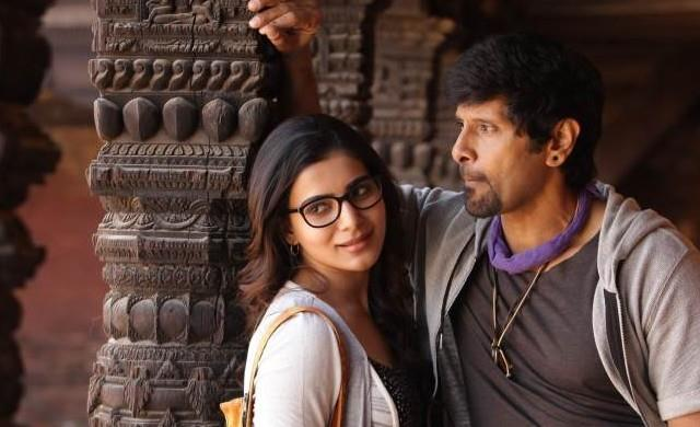 Making video of  10 Endrathukulla title song