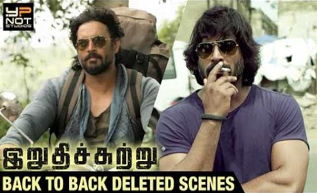 Irudhi Suttru Back to Back Deleted Scenes