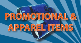 Click here to browse our promotional and apparel catalog