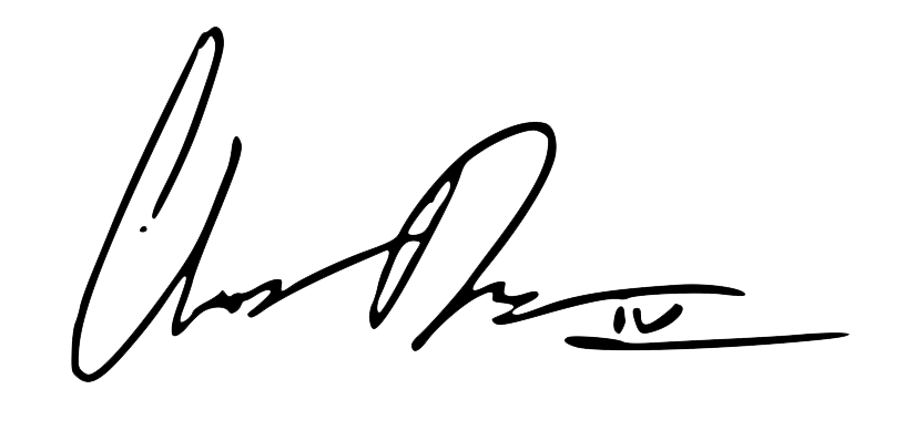 Charles Denault Signature
