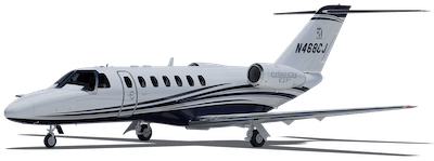 Round Trip Private Jets From Brooksville, Florida to Key West, Florida to Brooksville, Florida - Light Cabin Jet