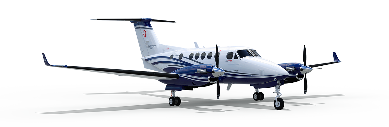 King Air for charter on SimpleCharters
