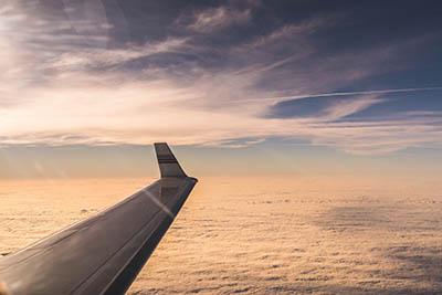 private jet wingtip