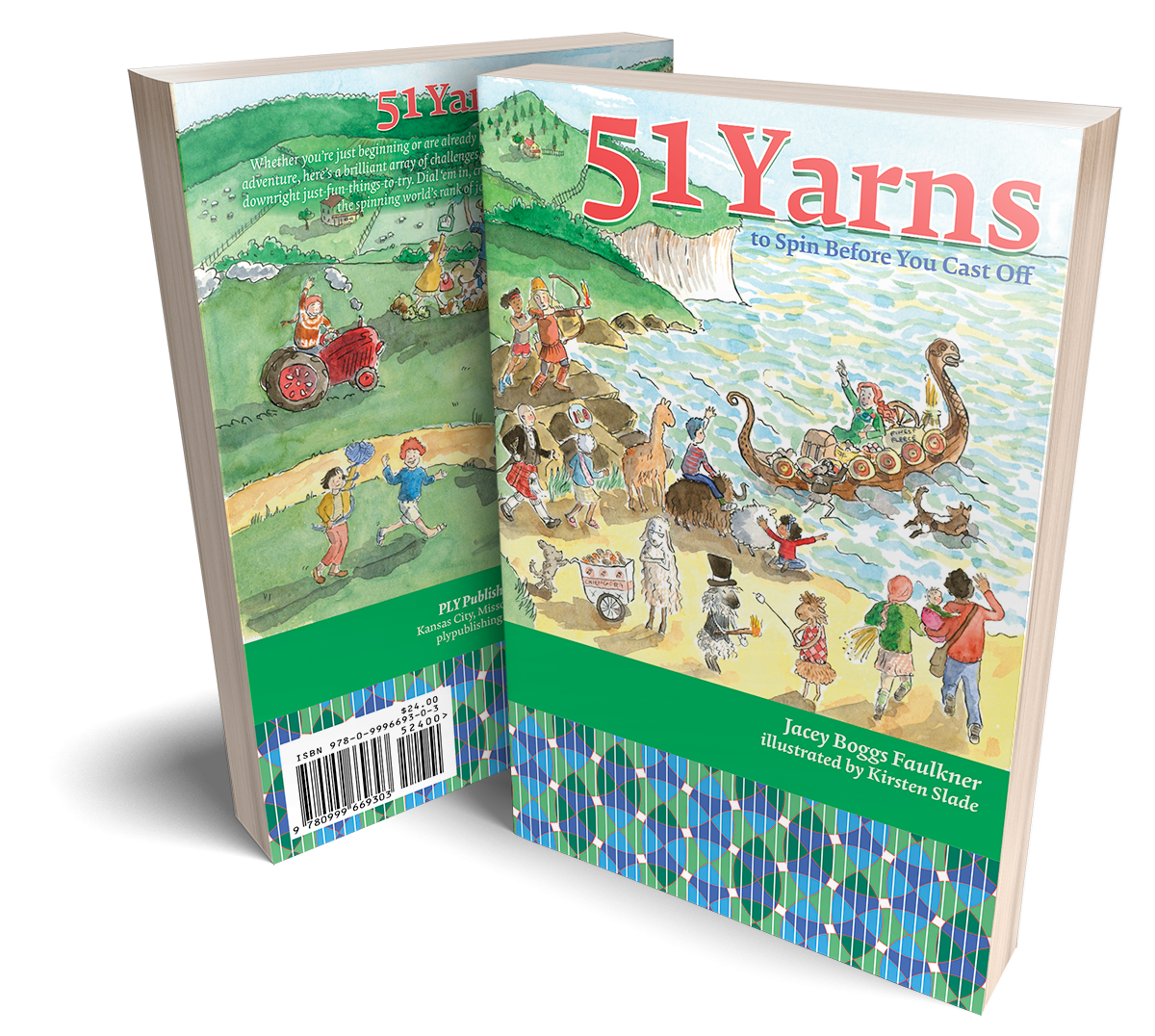 51 Yarns to Spin Before you Cast Off - digital OR print and digital