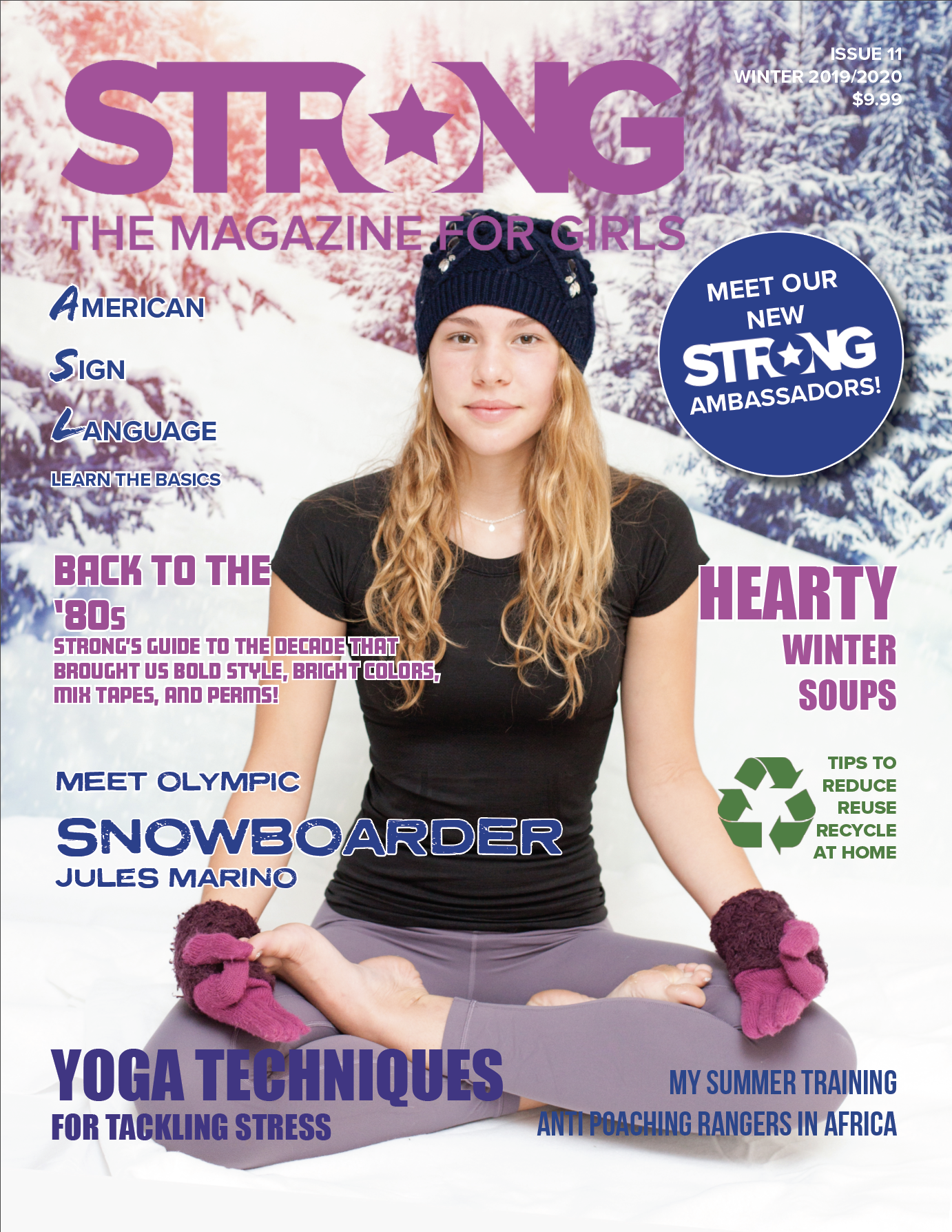 Strong Magazine for Girls