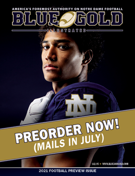 Notre Dame Football Preview Magazine