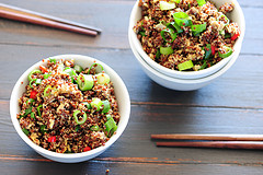 fried quinoa photo