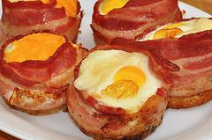 muffin tin eggs photo