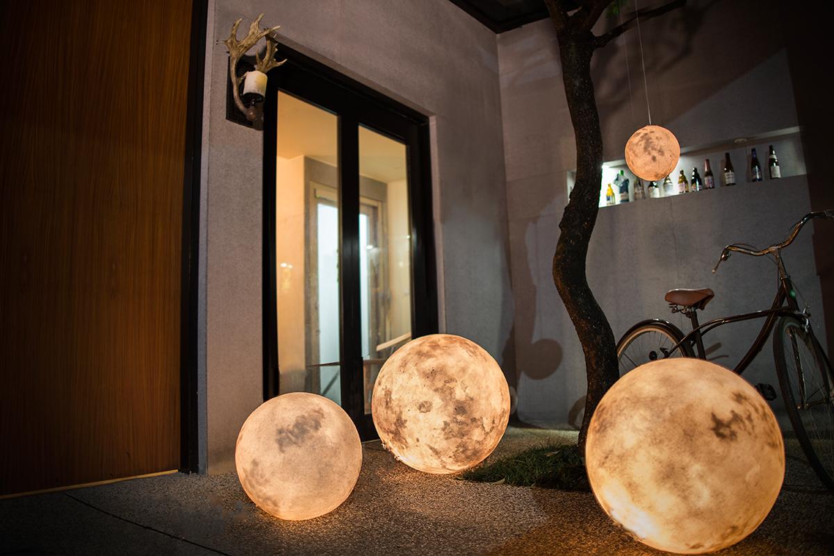 Luna lanterns hanging