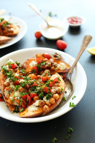 AMAZING-30-minute-Dinner-Mediterranean-Baked-Sweet-Potatoes-vegan-glutenfree1