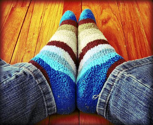 warm socks photo