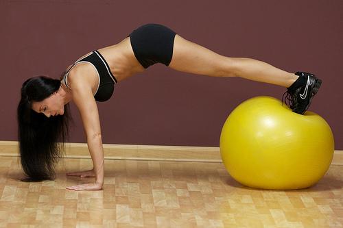 exercise ball photo