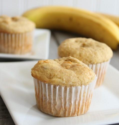 Yellow Cake Mix And Banana Muffins