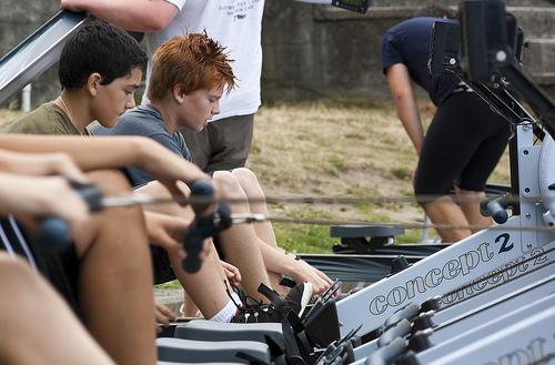 rowing machine photo