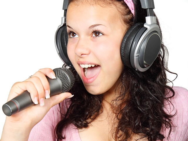 singing photo