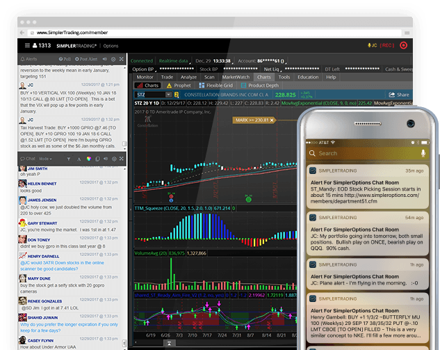 Live Trading Chatroom