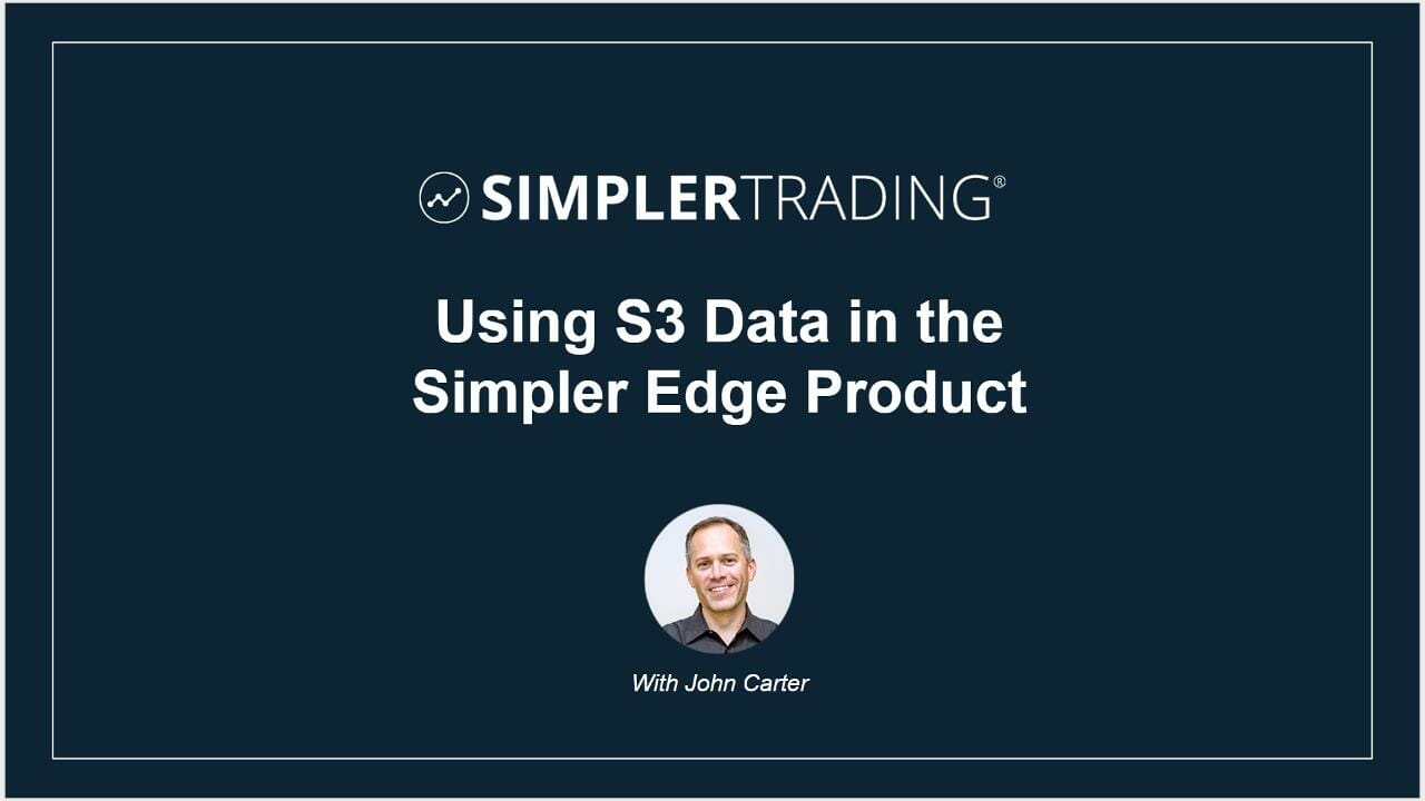 S3 Data in the Simpler Edge Product