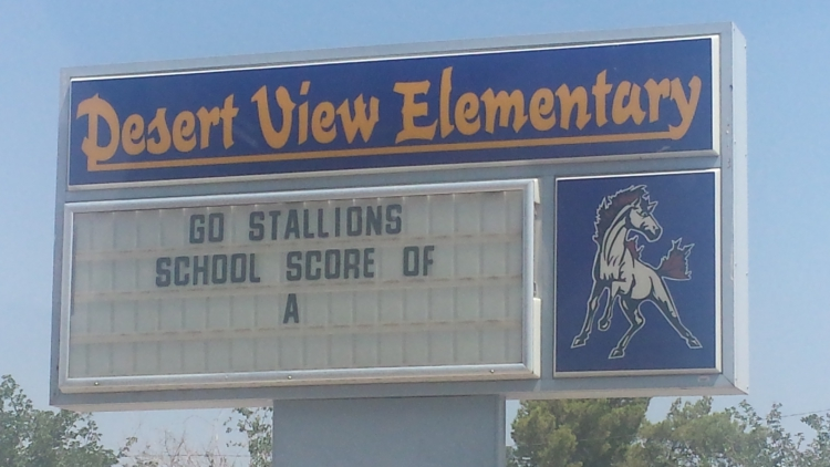 Distinguished Schools: Desert View Elementary