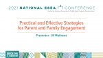 Practical and Effective Strategies for Parent and Family Engagement