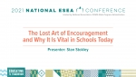 The Lost Art of Encouragement and Why it is Vital in Schools Today