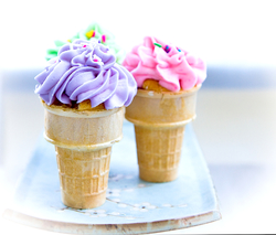 Cupcakes in a cone 0611