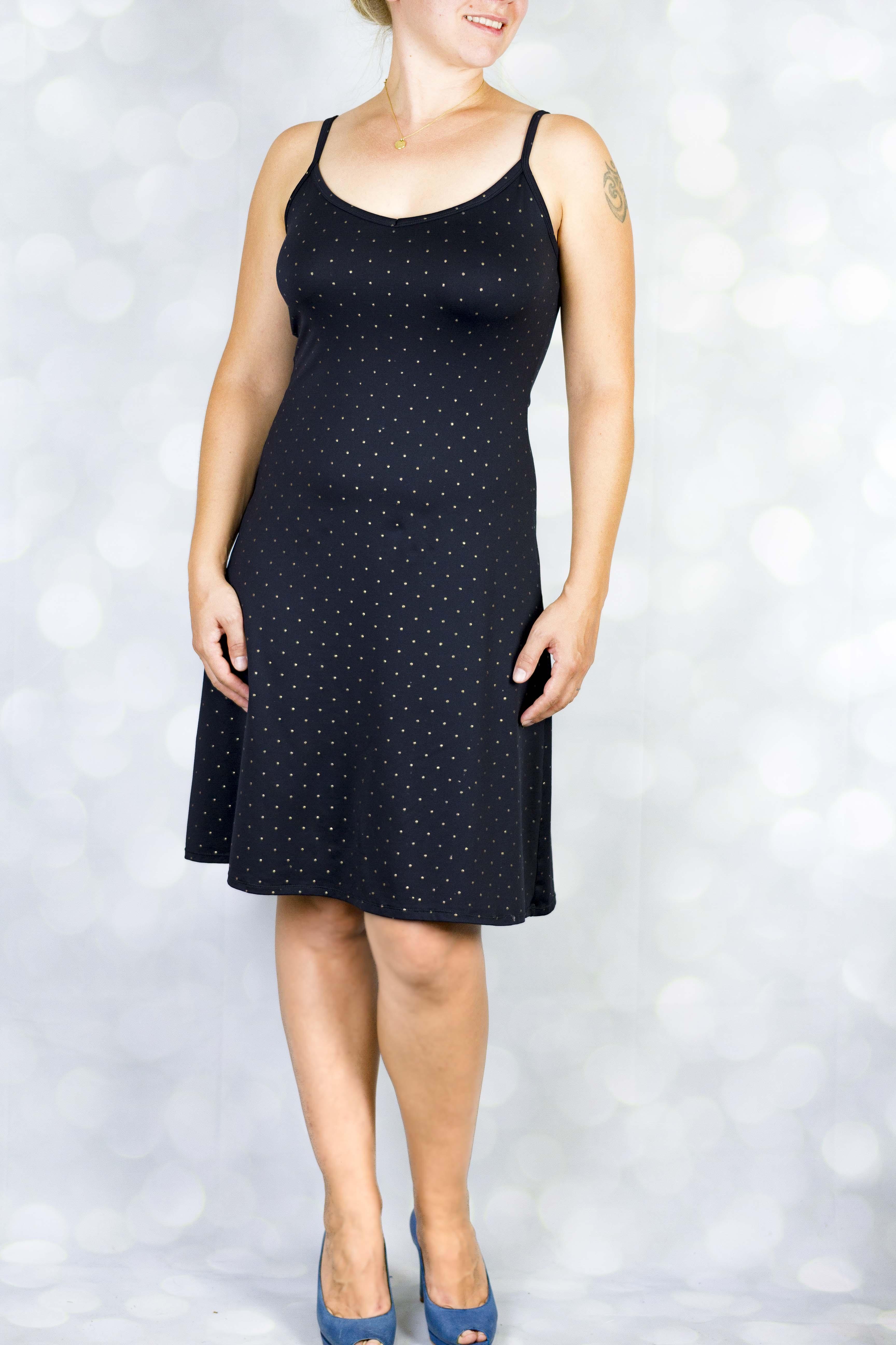 Lydia knit cami dress PDF sewing pattern