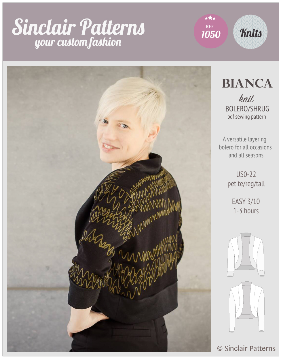 Luxury Knitting Pattern Bolero Shrug Ensign - Easy Scarf Knitting ...