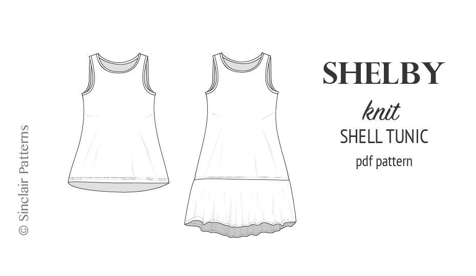 Shelby Relaxed Cut Longline Knit Shell Tunic And Dress Sinclair