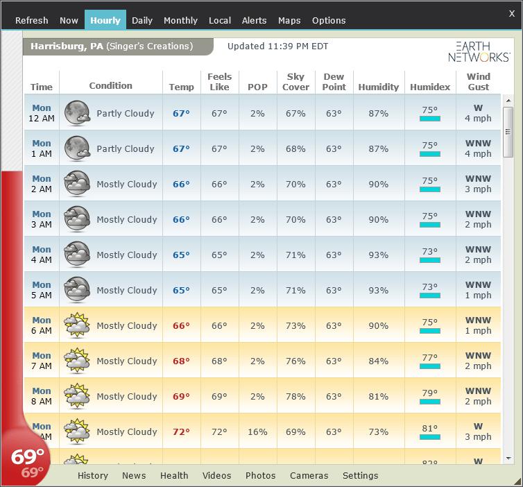 Weather Watcher Live screenshot