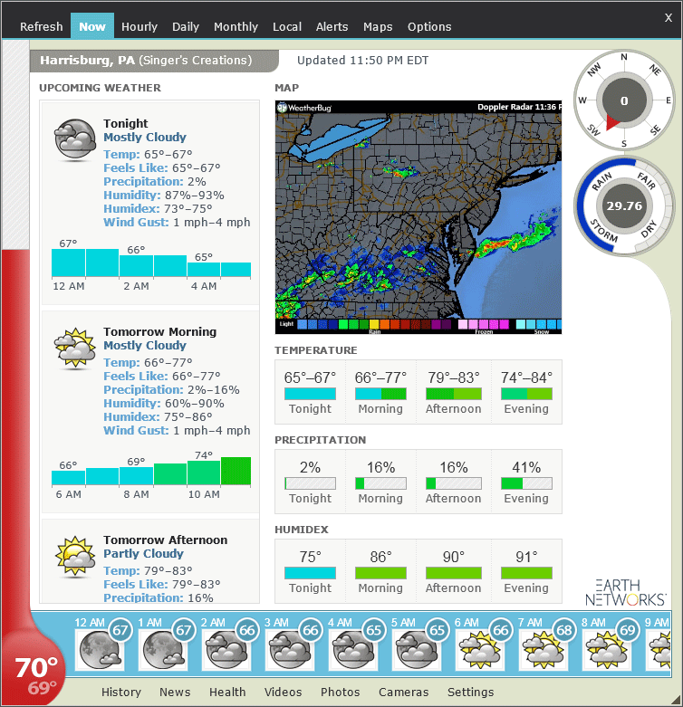 Get accurate weather conditions & forecasts | Weather Watcher