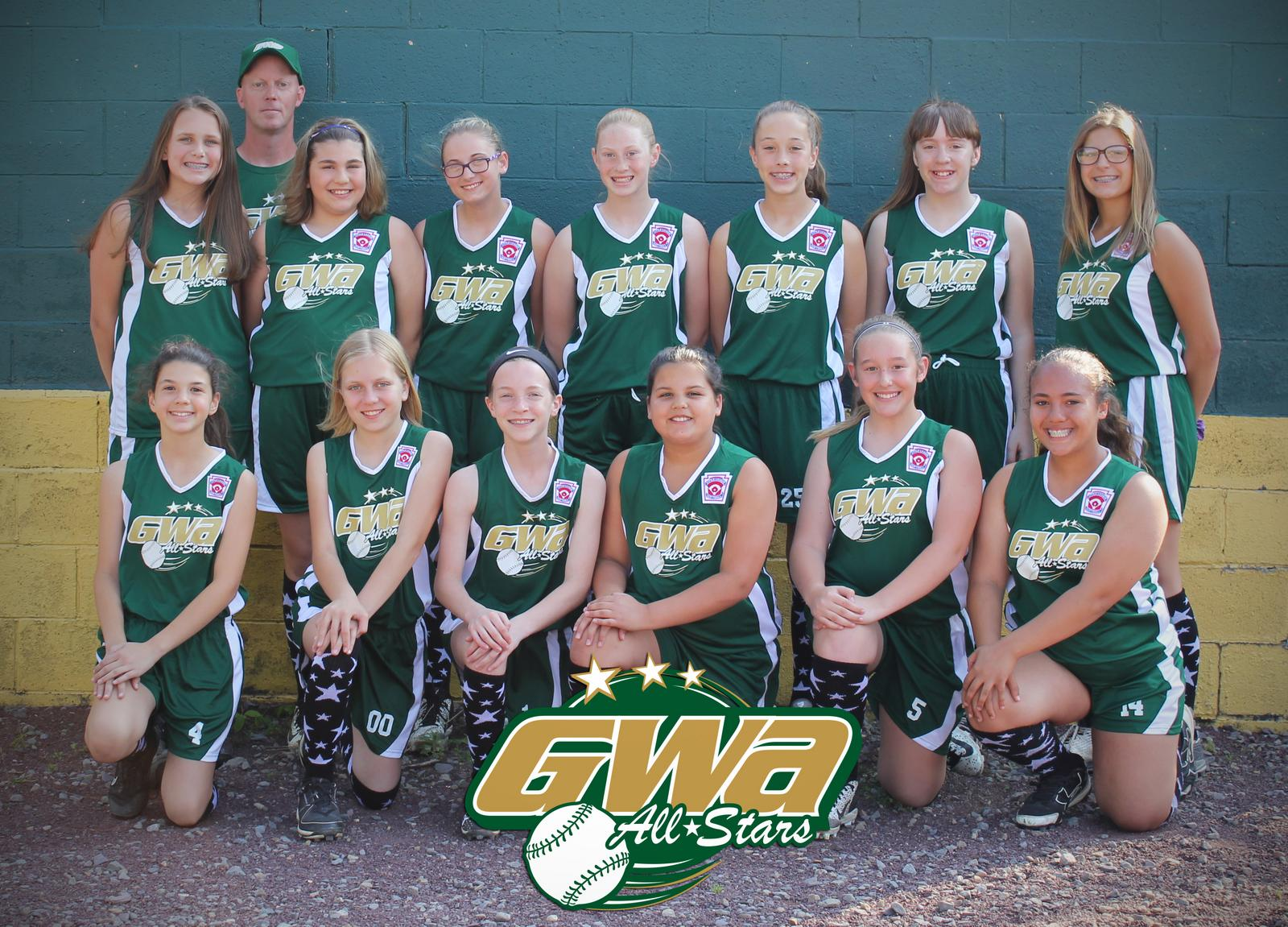 2017 GWA 11-12 Softball All-Stars