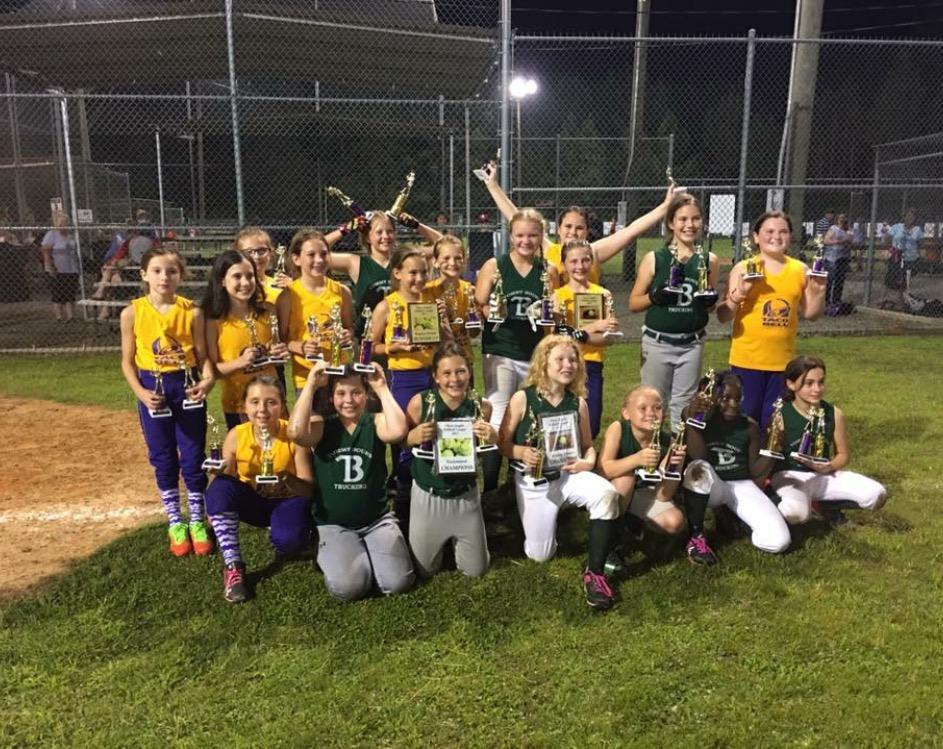 Ruston Dixie Girls Softball