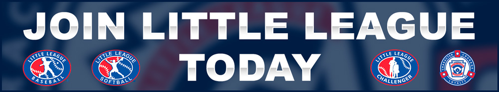 Join Little League Today Banner