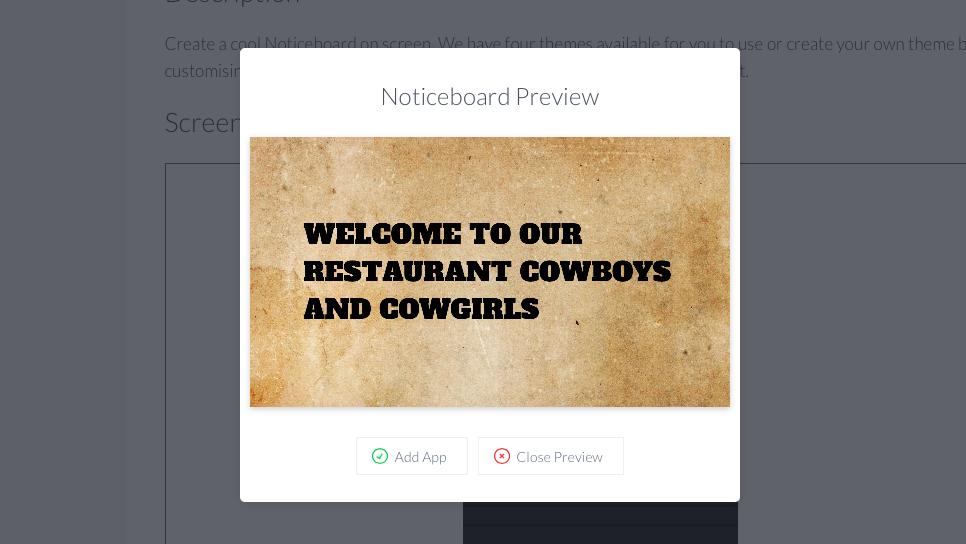 Cowboy effect noticeboard