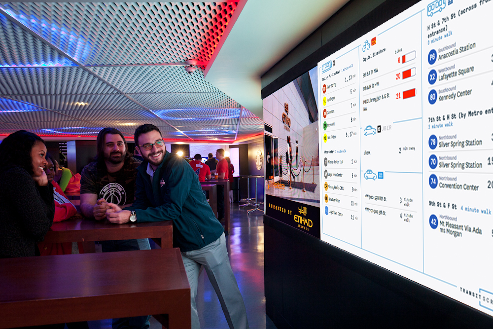 digital signs, hospitality