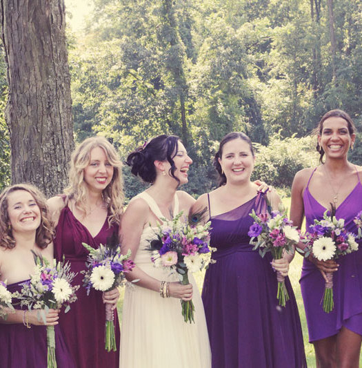 Monochromatic Purple Wedding