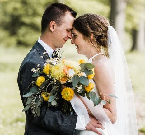 Sunny Spring DIY Wedding