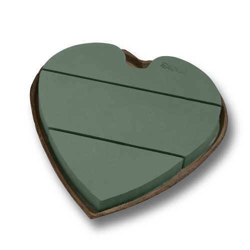 OASIS® Mache Solid Heart, 12 Inch