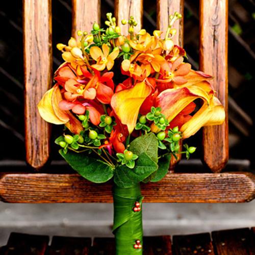 Orchid Flower Wedding Pack 50 Mokara 40 Mini Calla