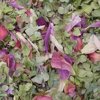 Barnyard Wedding Dried Petals