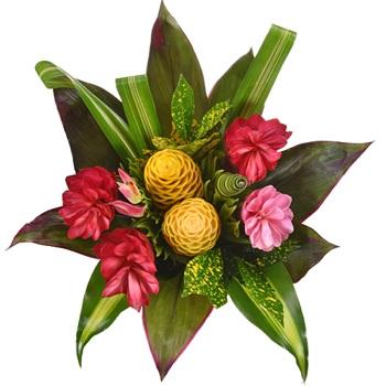 Tropical Delight Flower Centerpiece