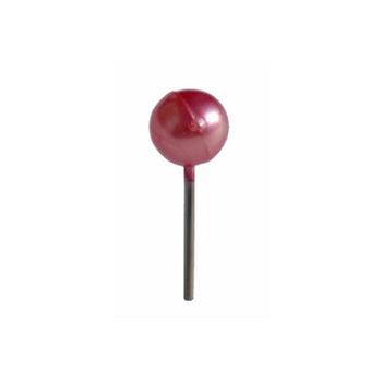 DIY Pins Pink Hibiscus Metallic 4mm