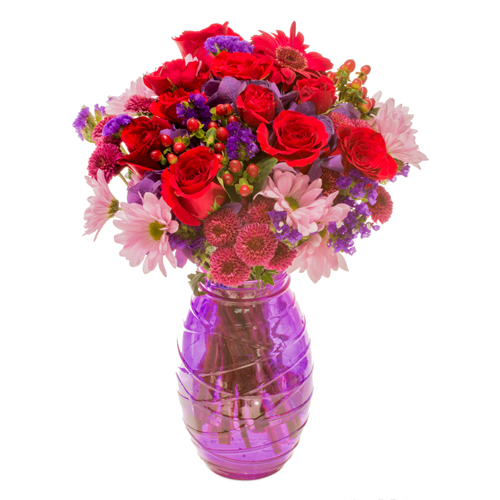 Hues of Love Valentines Arrangement