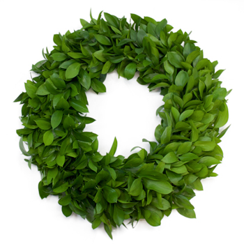 Israeli Ruscus Wreath