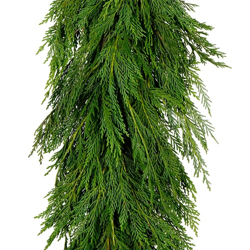 Leyland Cedar Winter Greens Garland