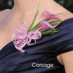 Wedding Flower Packs Boutonniere and Corsages Roses Terracotta and Ivory