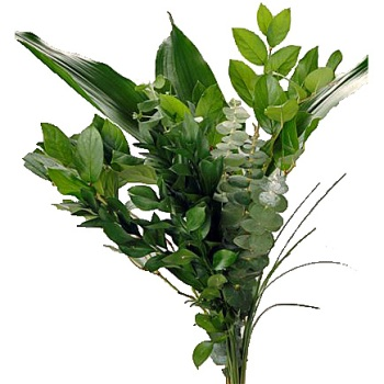 Mixed Greens Fresh Centerpieces